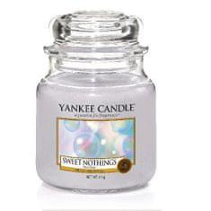 Yankee Candle Aromatická svíčka Classic střední Sladká nic (Sweet Nothings) 411 g