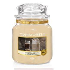 Yankee Candle Aromatická svíčka Classic střední Sladký javorový chai (Sweet Maple Chai) 411 g