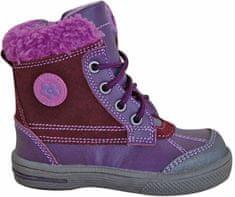 Protetika Dívčí zimní boty Kern - fialové
