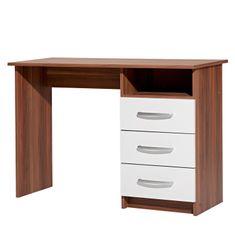 IDEA nábytek nábytek Psací stůl 60044 ořech/bílá