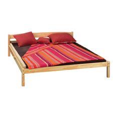 IDEA nábytek nábytek Dvoulůžko 7807 nelakované 180x200
