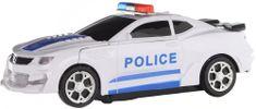 Lamps Robot policejní auto na baterie
