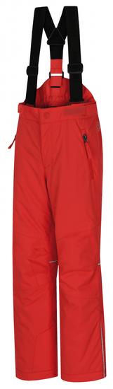 Hannah detské lyžiarske nohavice AKITA JR 164 červená