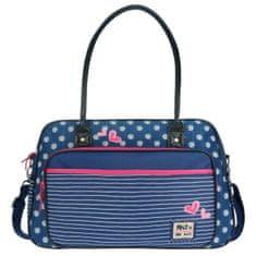 Kidzroom Pret přebalovací taška, modrá/bílá