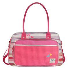 Kidzroom Pret přebalovací taška, růžová