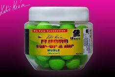 Lk Baits Fluoro Pop-up Mussel 14 mm(zelená) 150 ml