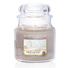 Yankee Candle Vonná sviečka Classic strednej Naplavené drevo (Driftwood) 411 g