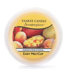 Yankee Candle Wosk do elektrycznej aromalampy Salsa mango i brzoskwinii(Mango Peach Salsa) 61 g