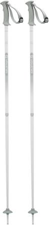 Salomon ženski smučarski palici Northpole Lady Grey, 125 cm, sive