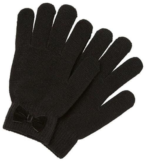 Pieces Dámské rukavice PCNEW BUDDY BOW GLOVE Black