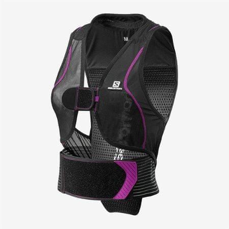 Salomon Flexcell Light Vest W ženski ščitnik za hrbtenico, črn, S
