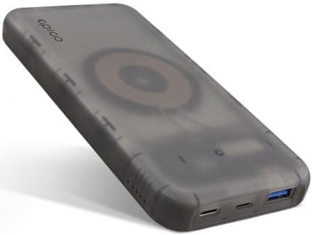 EPICO powerbank Wireless PD 9915101200005, transparentny
