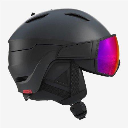 Salomon kask narciarski Driver Black/Red Accent L 59-62 cm