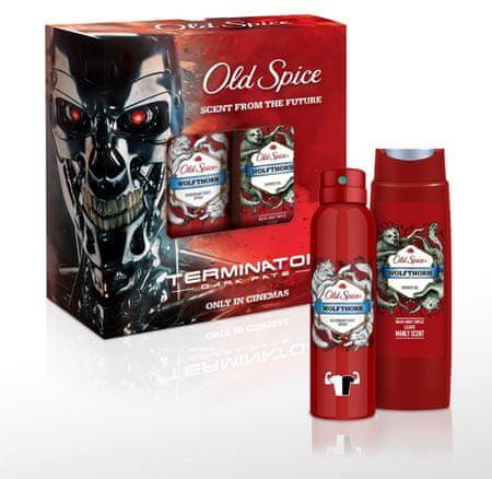 Old Spice zestaw upominkowy dla mężczyzn Terminator Wolfthorn