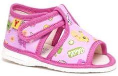 RAK Dievčenské obrázkové papučky 100014-3 R3
