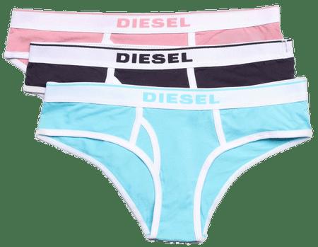 Diesel 3 - pak majtek damskich Oxy 00SQZS-0EAUF S wielokolorowe