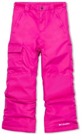Columbia dívčí lyžařské kalhoty Bugaboo II 152 růžová