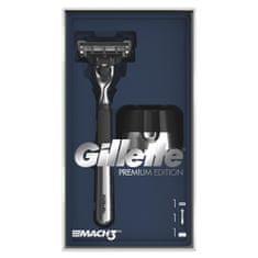 Gillette Ajándékcsomagolás Mach3 Krómozott borotva + Állvány