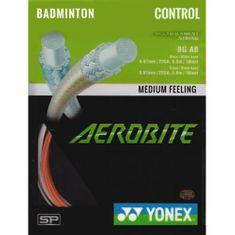 Yonex Badmintonový výplet Aerobite, 0,67mm, 10m, červený