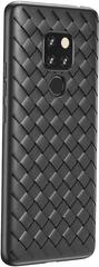 BASEUS BV Weaving Series zaščitni ovitek za Huawei Mate 20 Pro, črn, WIHWMATE20P-BV01