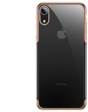 BASEUS Shining Series zaščitni ovitek za iPhone XR, zlat, ARAPIPH61-MD0V