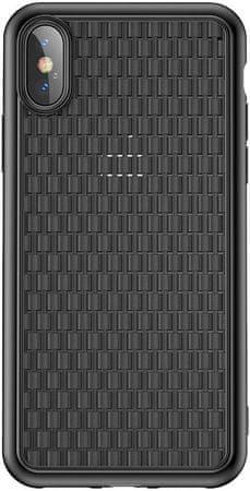 BASEUS BV Weaving Series ochranný kryt pro iPhone X/XS, černý, WIAPIPH58-BV01