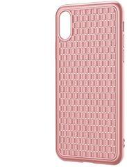 BASEUS BV Weaving Series zaštitna maska za iPhone X/XS, roza, WIAPIPH58-BV04