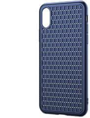 BASEUS BV Weaving Series zaštitna maska za iPhone XS Max, plava, WIAPIPH65-BV03