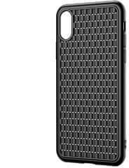 BASEUS BV Weaving Series zaštitna maska za iPhone XS, crna, WIAPIPH65-BV01