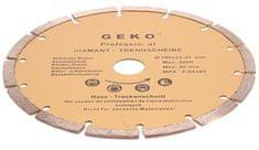 GEKO Diamantový řezný kotouč segmentový, 180x22mm