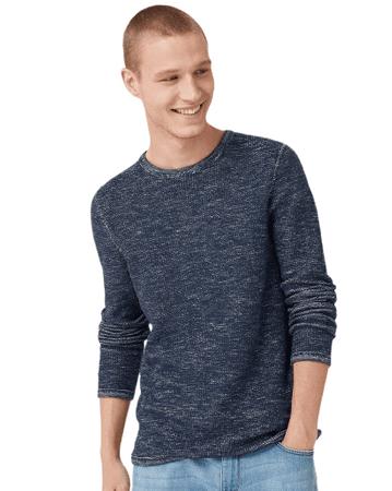 Q/S designed by pánský svetr 47.909.61.2728 XL tmavě modrá
