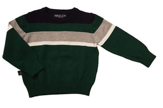 North Pole chlapecký svetr 12M zelená