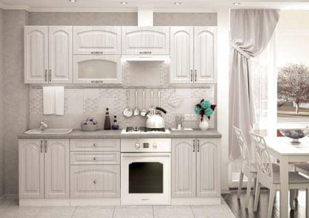 Kuchyně NEWPORT 180/240, zlatý jasan