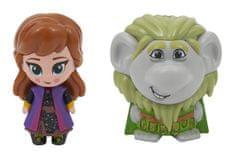 ADC Blackfire Frozen 2: 2-pack svietiaca mini bábika - Pabbie & Anna Travelling