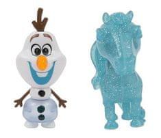 ADC Blackfire Frozen 2: 2-pack svítící mini panenka - Olaf & The Nokk