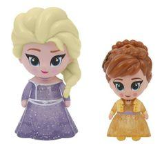 ADC Blackfire Frozen 2: 2-pack svietiaca mini bábika - Elsa Opening & Anna Opening