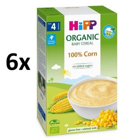 HiPP BIO První obilná kaše - 100% kukuřičná 6x200 g