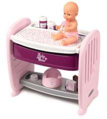 Smoby Baby Nurse 2v1 postieľka a prebaľovací pult