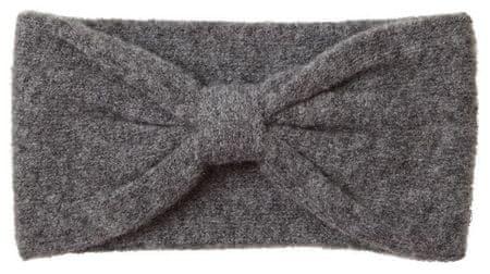Vero Moda Ženska trak za glavo VMTRINE WOOL HEADBAND Dark Grey Melange