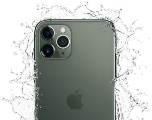 Apple iPhone 11 Pro, voděodolný, odolný, krytí IP68, odolný proti prachu polití, pevné tvrzené sklo