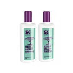 Brazil Keratin Pakiet promocyjny Organiczny szampon keratynowy z olejem marulinowym 300 ml + Organiczna odżywka ker