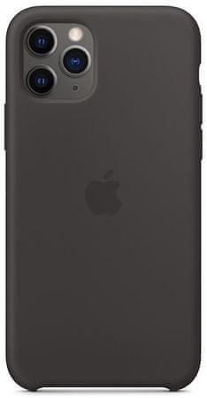 Apple obudowa silikonowa na iPhone 11 Pro, czarna MWYN2ZM/A