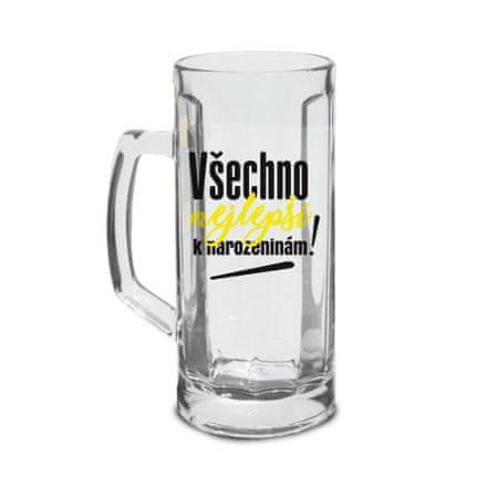TORO Pohár na pivo Všetko najlepšie! 500 ml