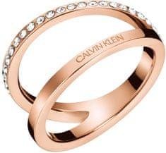 Calvin Klein Luxus bronz gyűrű Körvonal KJ6VPR1401
