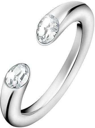 Calvin Klein Nyílt gyűrű Brilliant KJ8YMR0405 kristályokkal (Kerület 58 mm)
