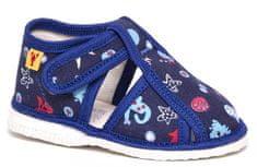 RAK Chlapčenské papučky 100015-3 M3 modré