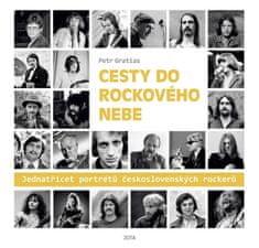 Gratias Petr: Cesty do rockového nebe - Jedenatřicet portrétů československých rockerů