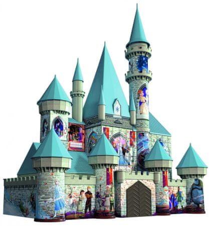 Ravensburger 3D puzzle 111565 Jégvarázs Disney Kastély 216 darabos