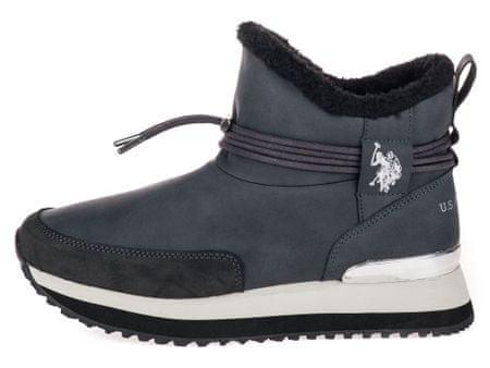 U.S. Polo Assn. ženske čizme za snijeg Vanessa 41 tamno sive