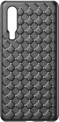 BASEUS BV Weaving Series zaščitni ovitek za Huawei P30, črn, WIHWP30-BV01